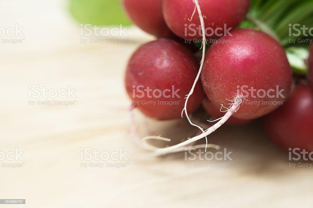 red radish, rotes radieschen royalty-free stock photo