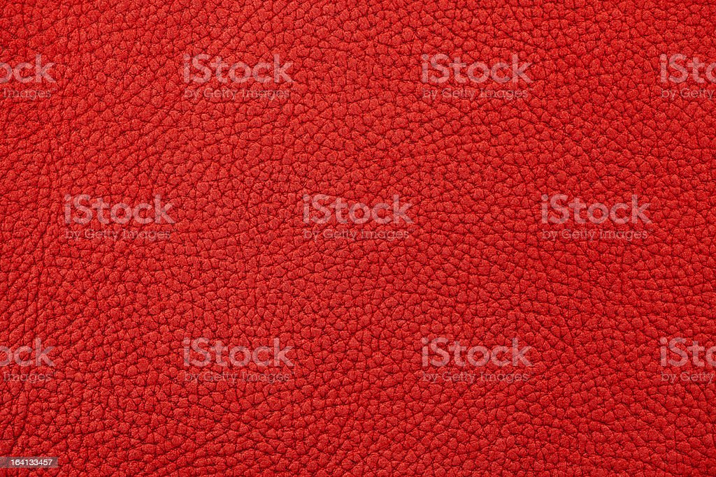 Red raw nubuck leather texture royalty-free stock photo