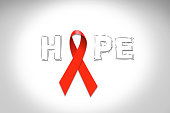 Red Ribbon- Aids and HIV on world AIDS day