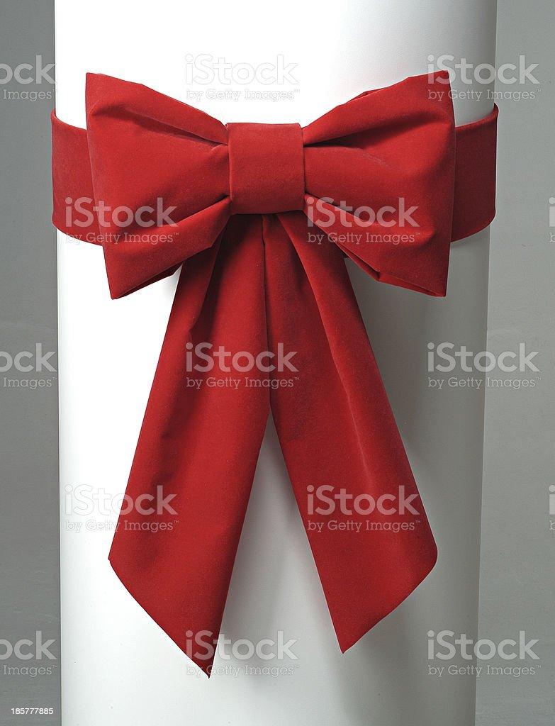 red ribbon royalty-free stock photo