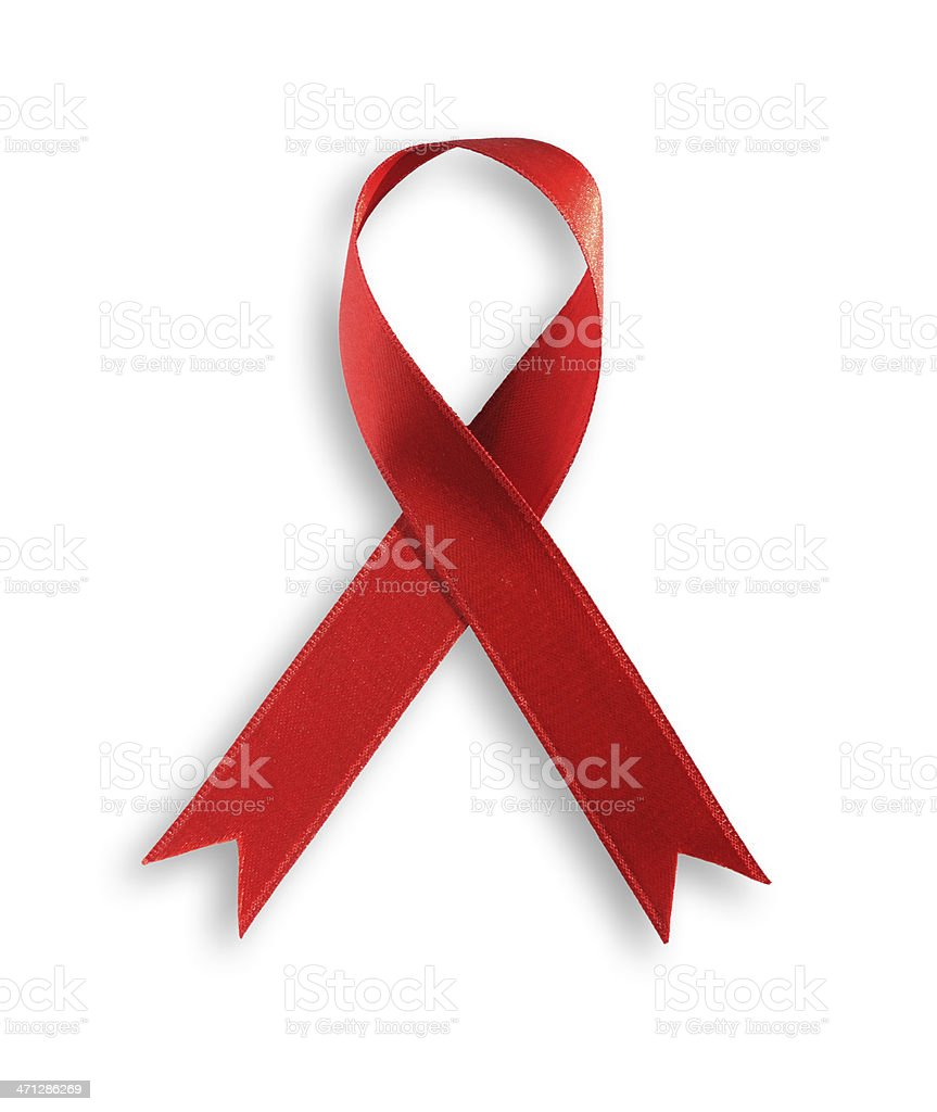 Red Ribbon stock photo