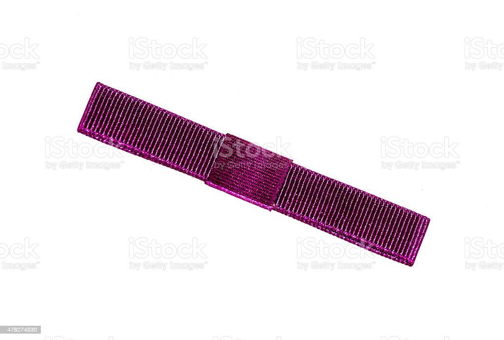 red ribbon stock photo