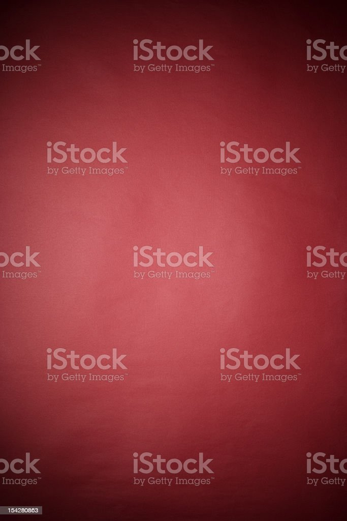 Red rice paper texture background with spotlight stock photo
