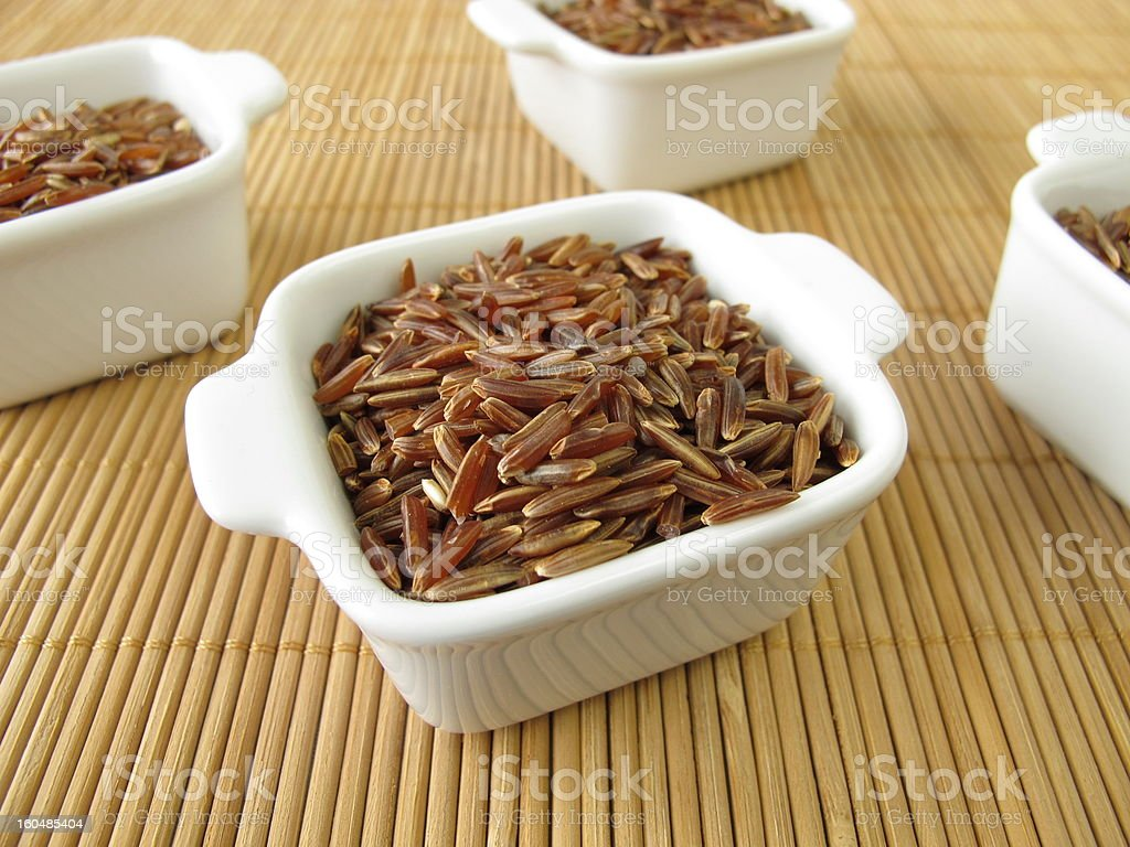 Red rice royalty-free stock photo
