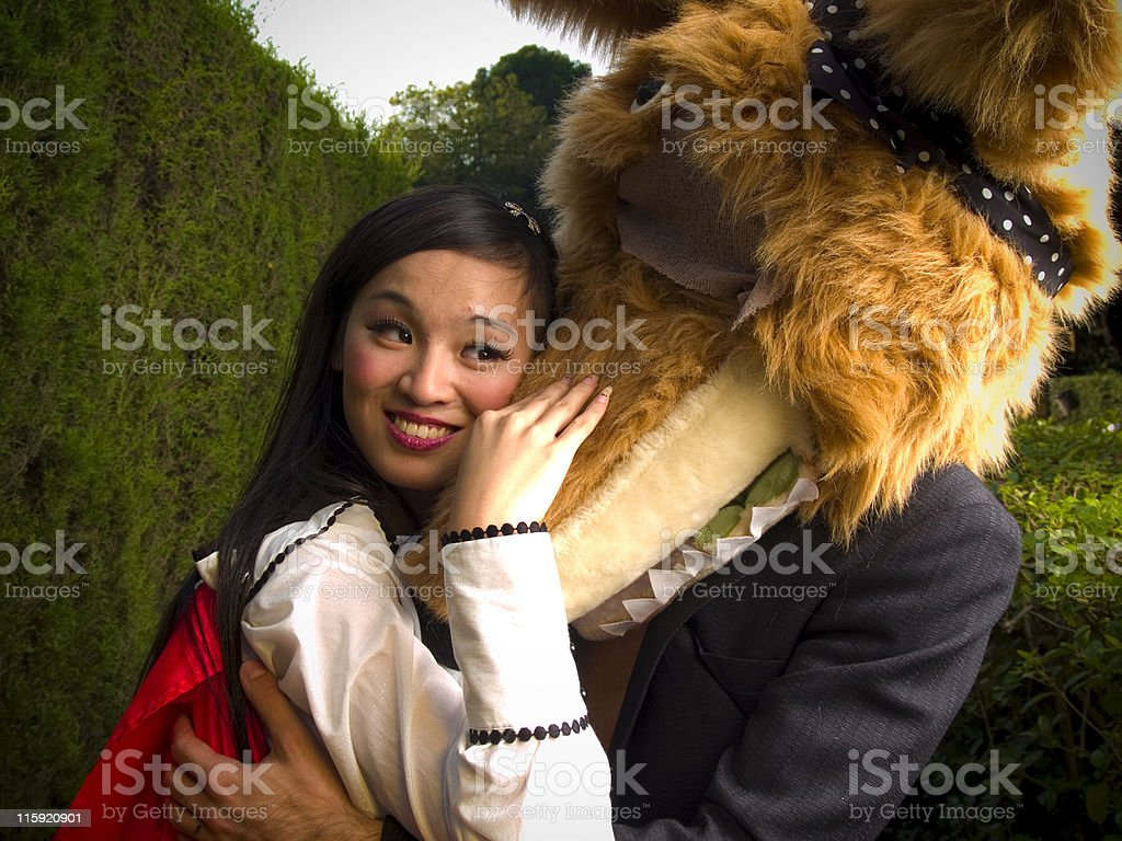 red riding hood royalty-free stock photo
