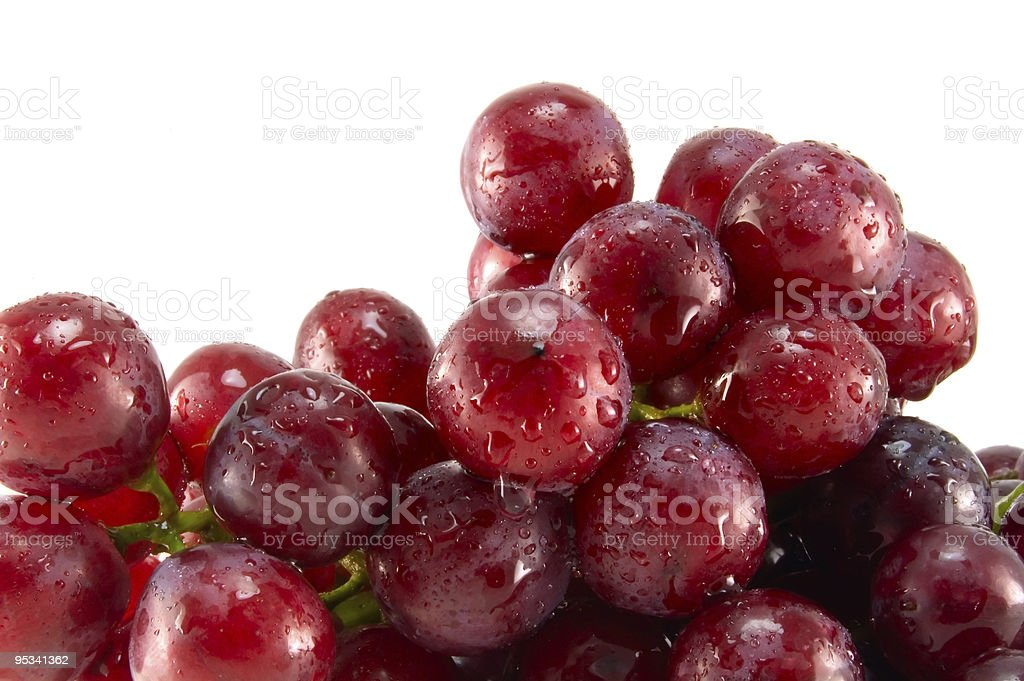 Red ripe grape royalty-free stock photo