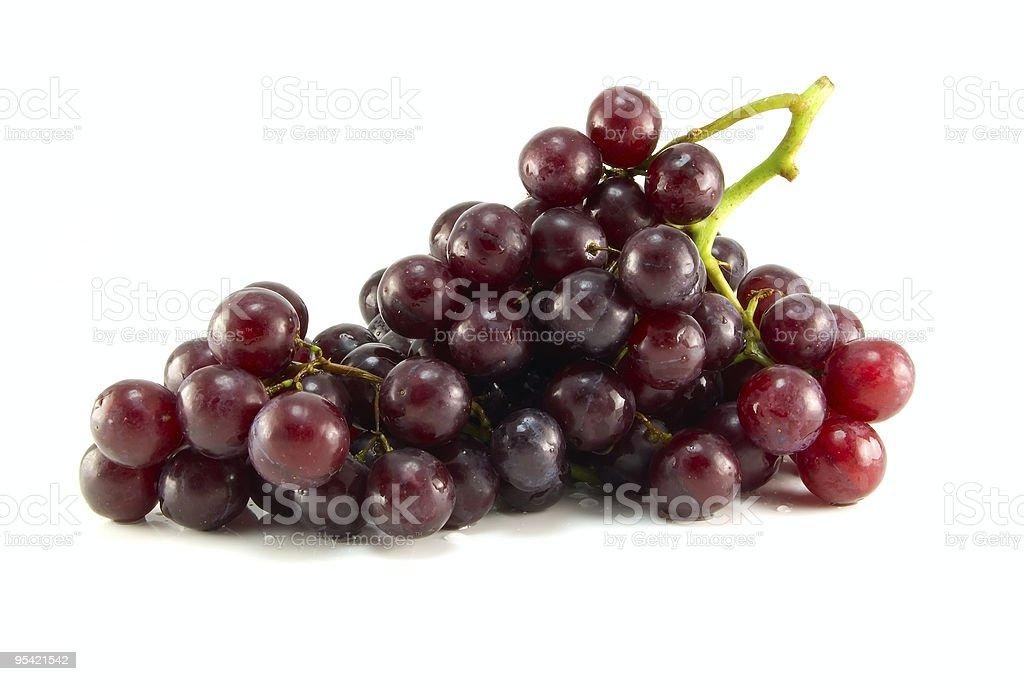 Red ripe grape royalty-free stock photo