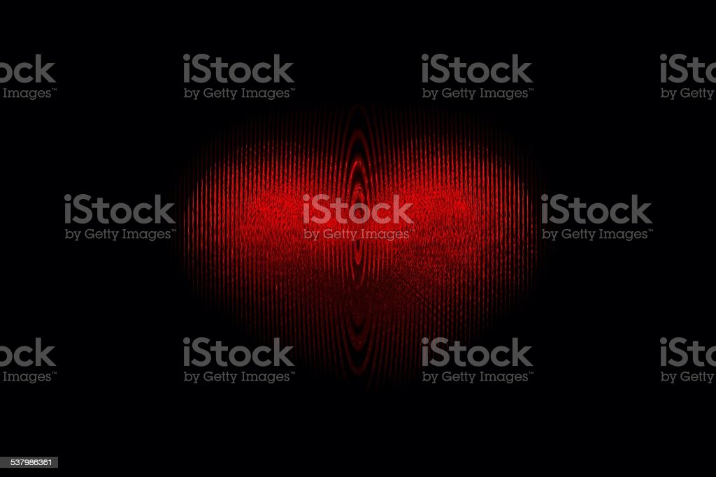 Red ripples of Passion stock photo