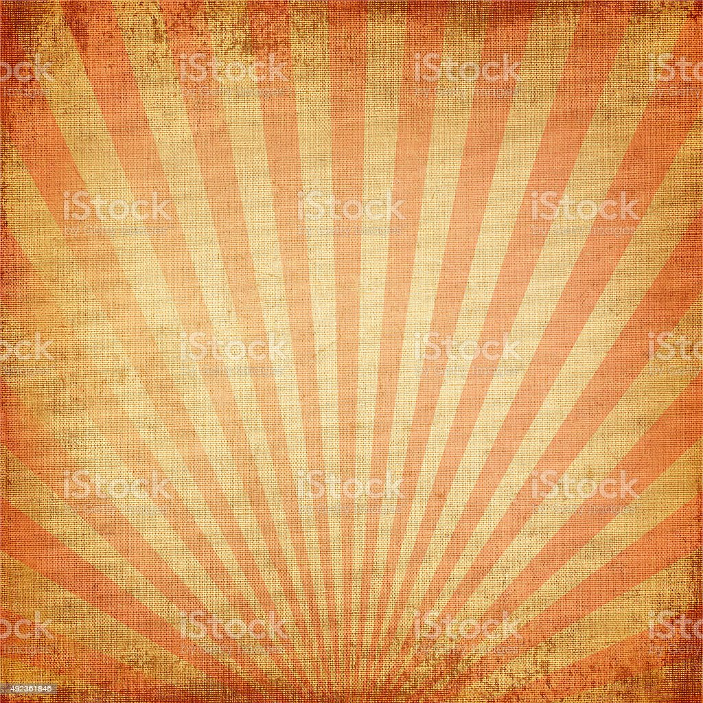 Red rising sun stock photo