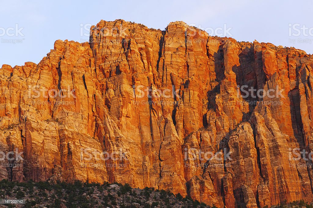 Red Rock at Sunset royalty-free stock photo