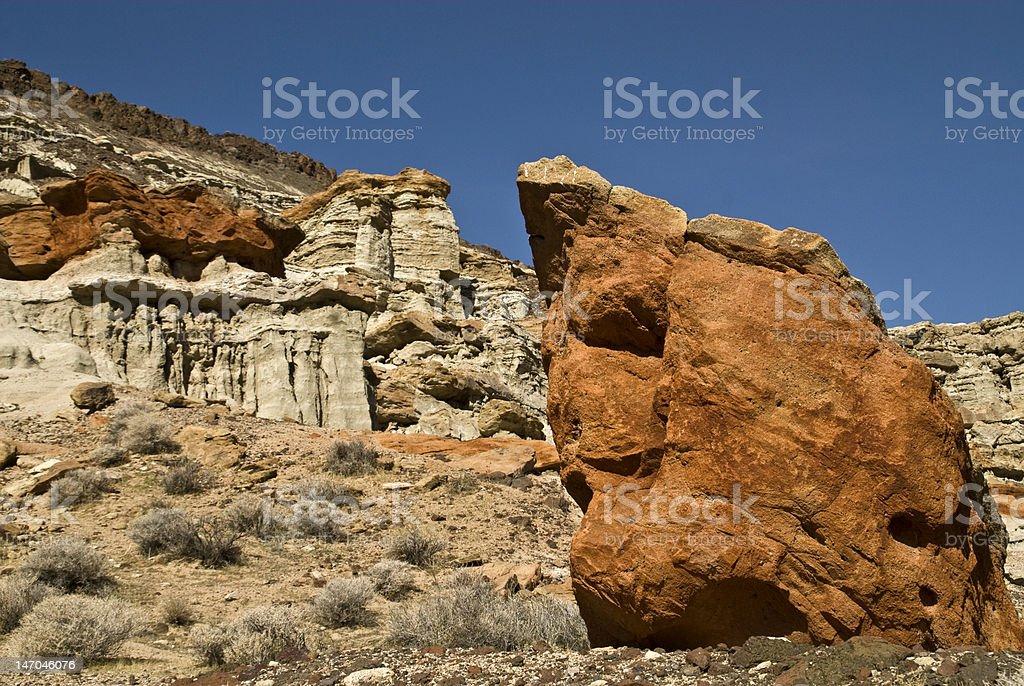 Red Rock Canyon, California stock photo