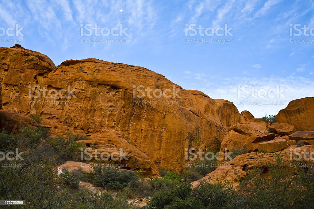 Red Rock Canyon Conservation Area royalty-free stock photo