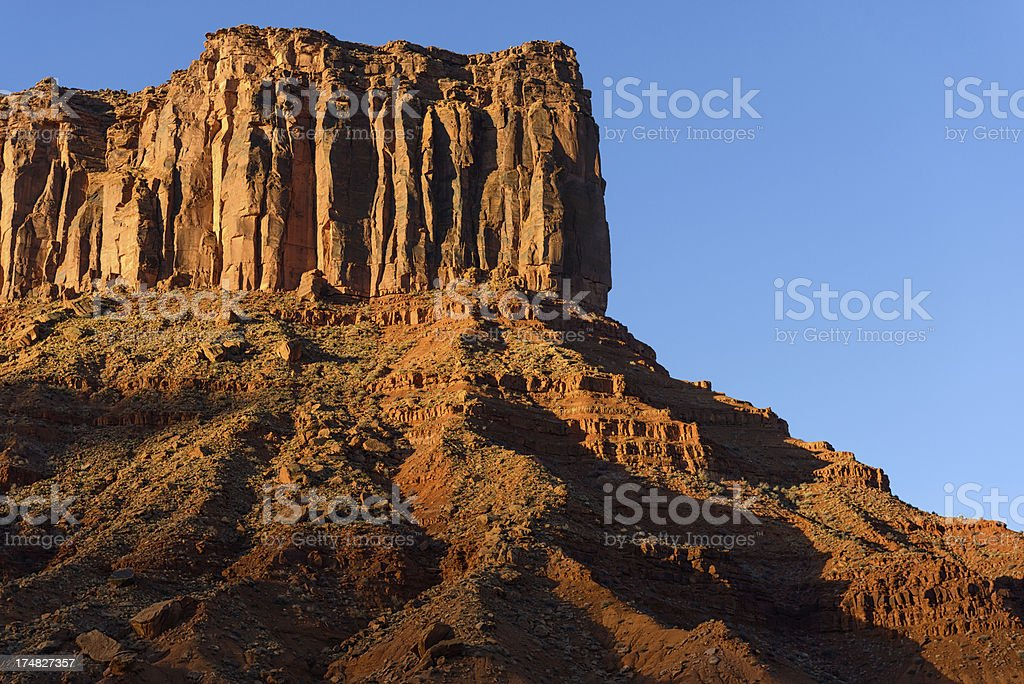 Red Rock Canyon Formation royalty-free stock photo