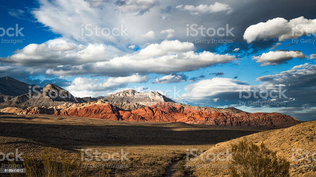 Red Rock Canyon Overlook stock photo