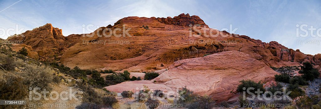 Red Rock Canyon panorama royalty-free stock photo