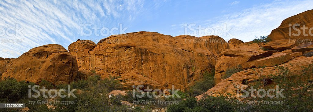 Red Rock Canyon panorama royalty-free stock photo