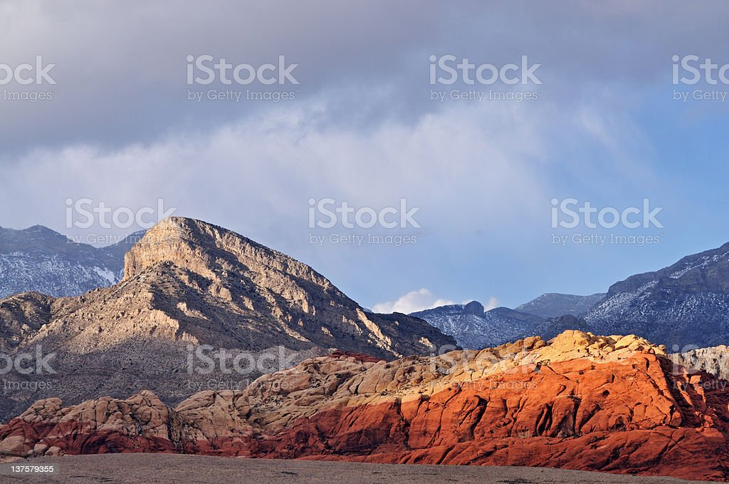 Red Rock Canyon royalty-free stock photo