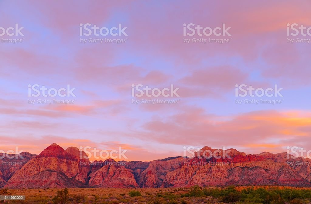 Red Rock Canyon stock photo