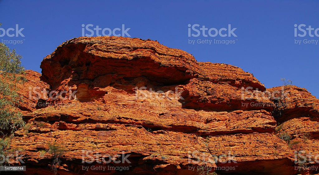 Red Rock Cliff royalty-free stock photo