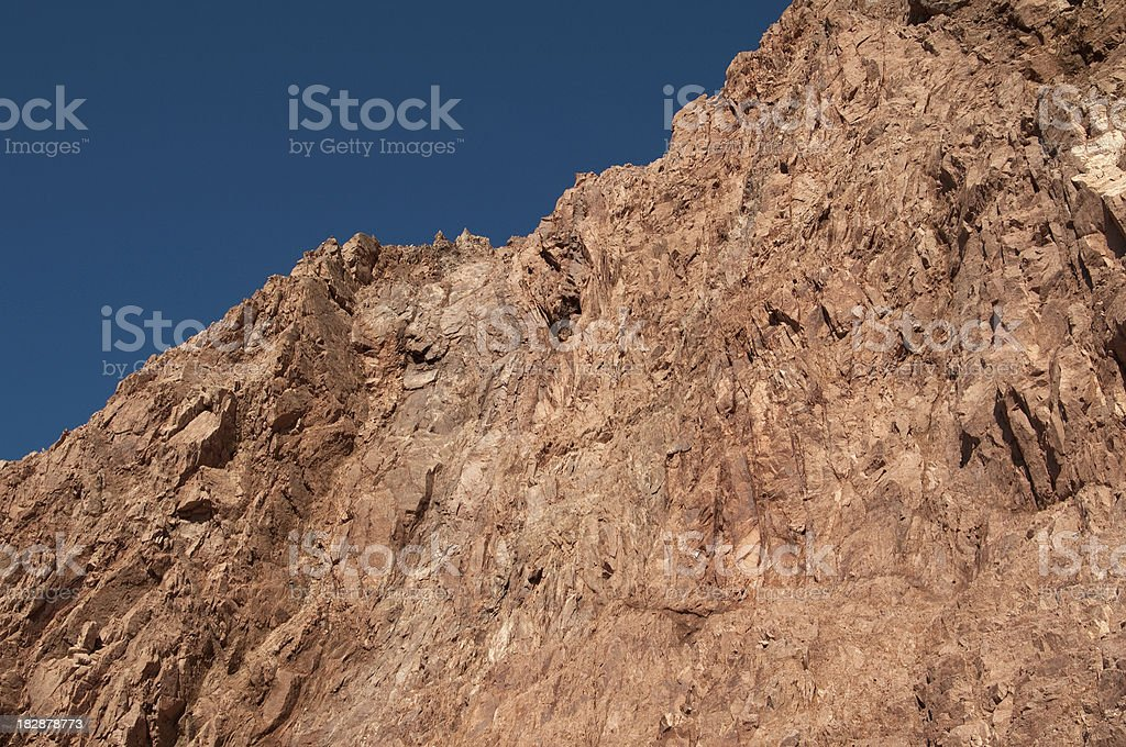 Red Rock Cliff stock photo
