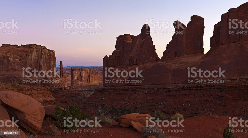 Red rock country royalty-free stock photo