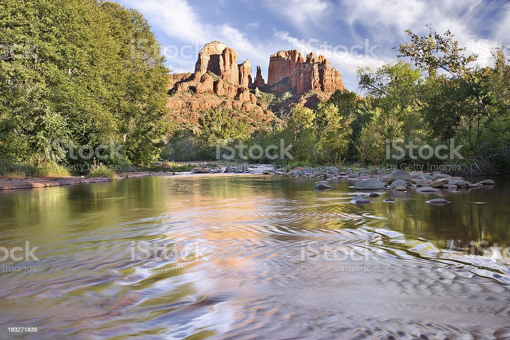 Red Rock Crossing stock photo