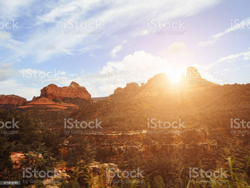 Red Rock in Sedona royalty-free stock photo