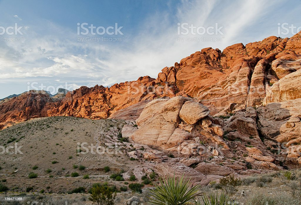 red rock landscape royalty-free stock photo