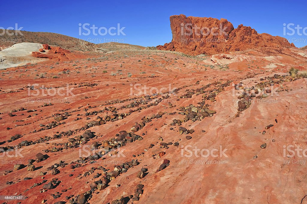 Red Rock Landscape, Southwest USA royalty-free stock photo