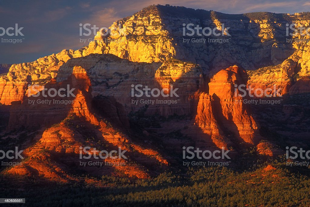 Red Rock Limelight royalty-free stock photo