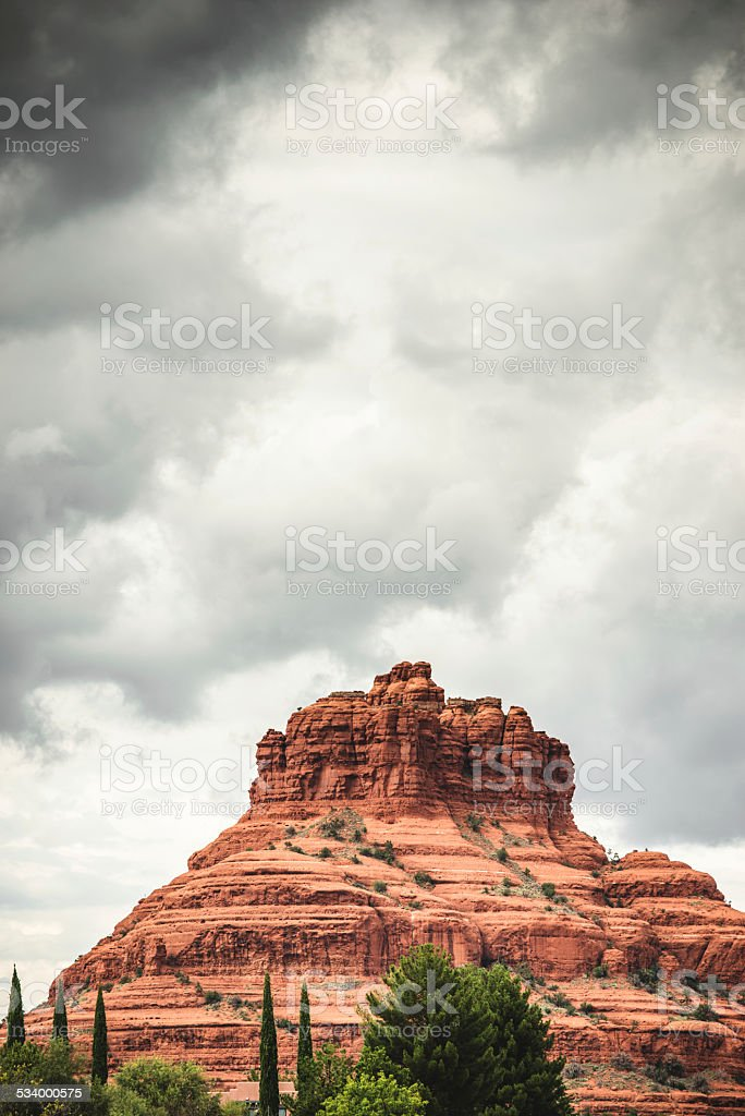 Red Rock mountains in Sedona stock photo