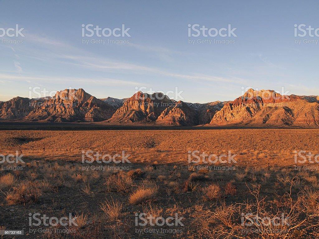 Red Rock Nevada royalty-free stock photo