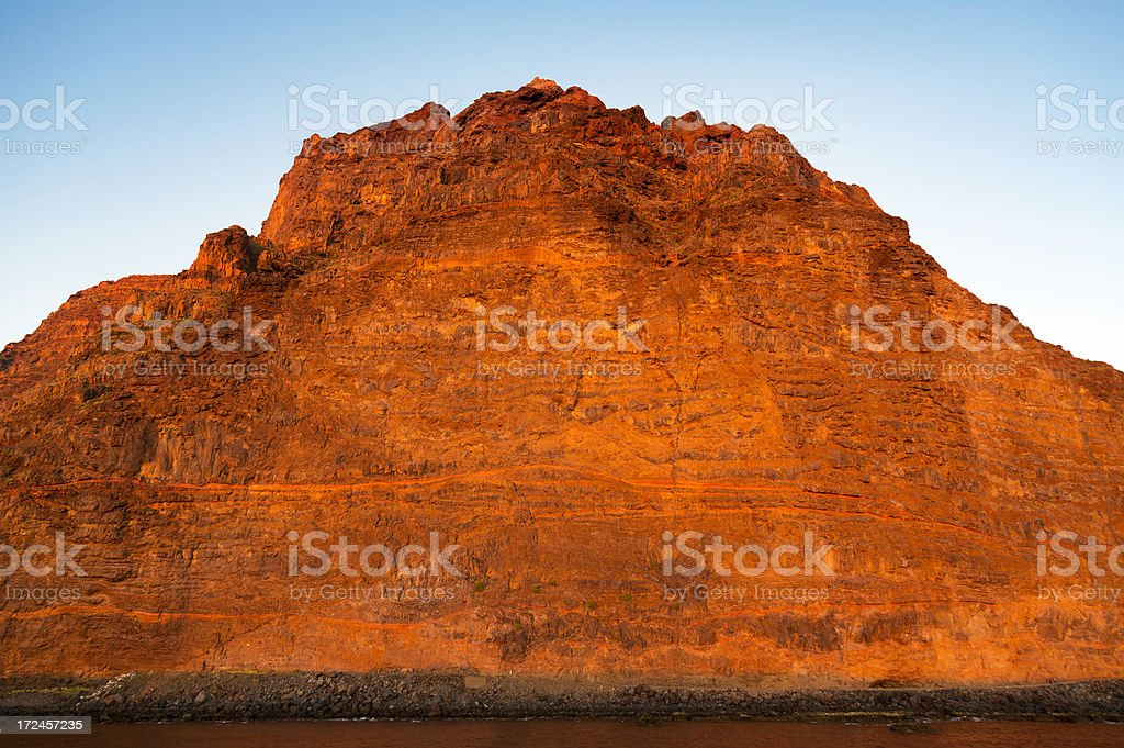 red rock stock photo