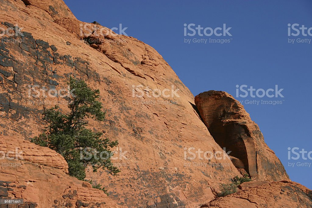 Red Rock royalty-free stock photo