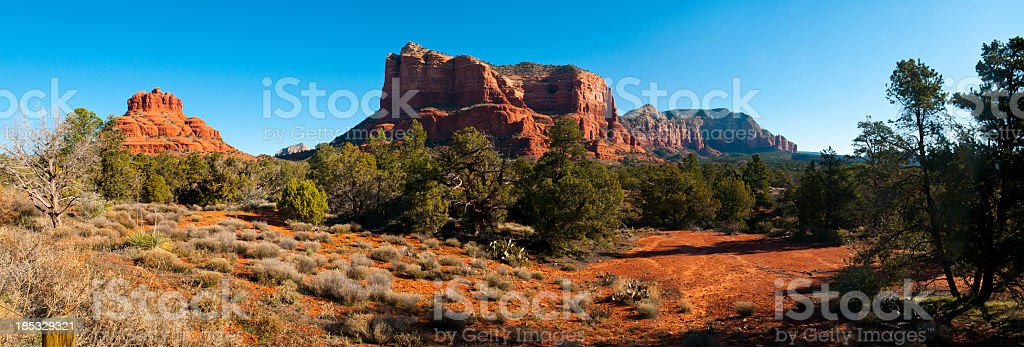 Red RockCanyon  near Sedona royalty-free stock photo