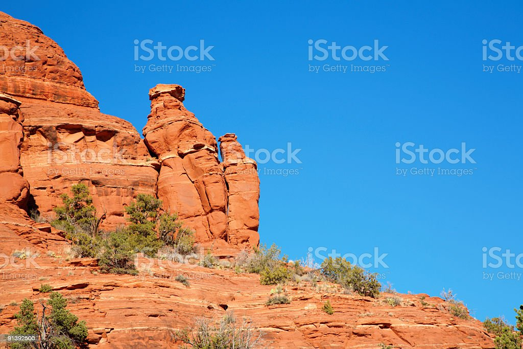 Red Rocks Formations royalty-free stock photo