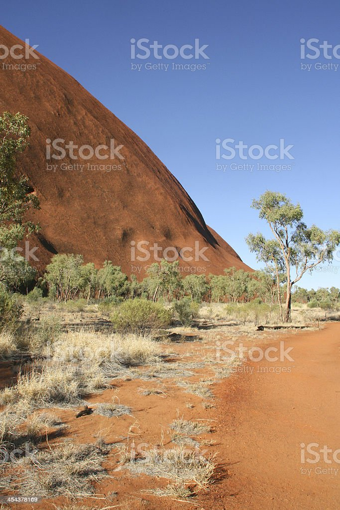 red rocks in outback australian, australia royalty-free stock photo