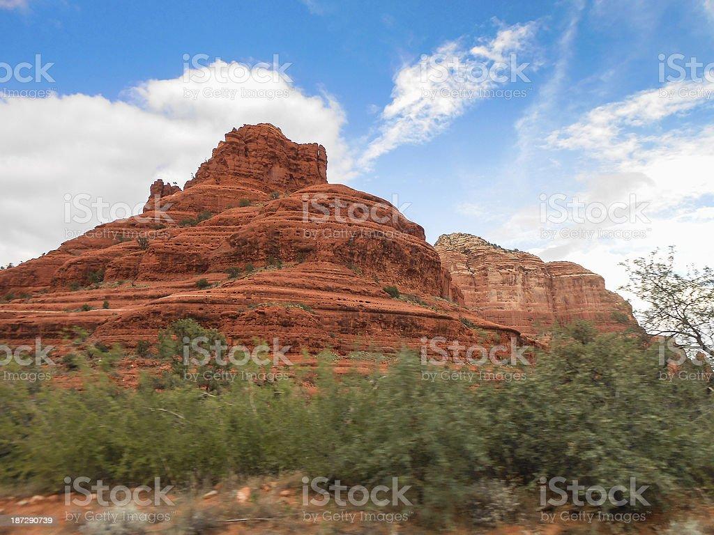 red rocks in sedona royalty-free stock photo