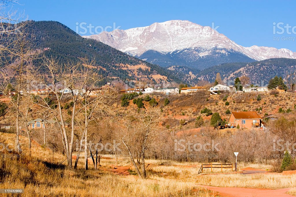 Red Rocks Open Space royalty-free stock photo