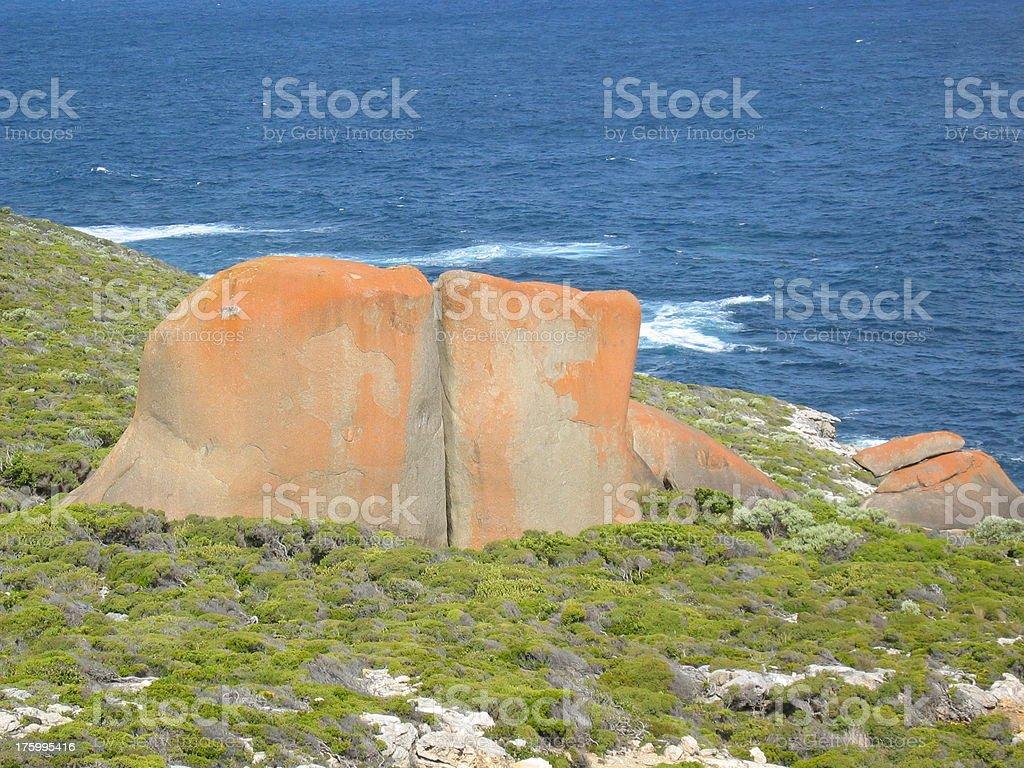 Red rocks stock photo