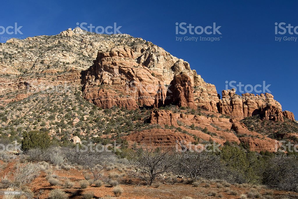 Red Rocks royalty-free stock photo