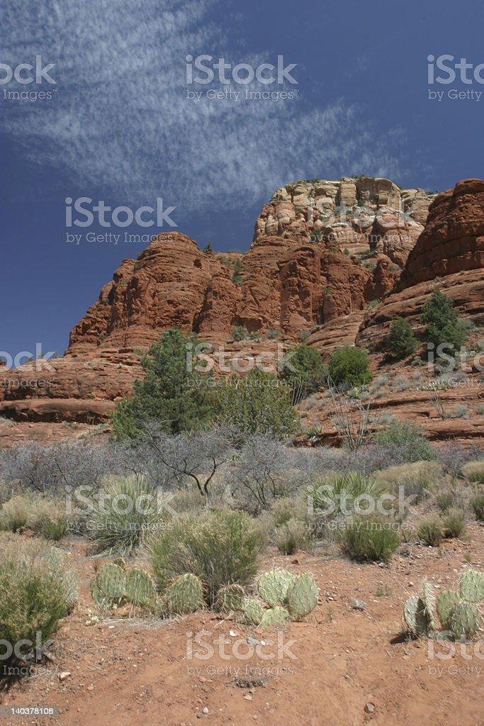 Red Rocks, Sedona  Arizona stock photo