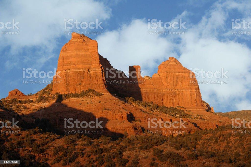 Red Rocks Sedona royalty-free stock photo