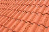 Red roof texture.
