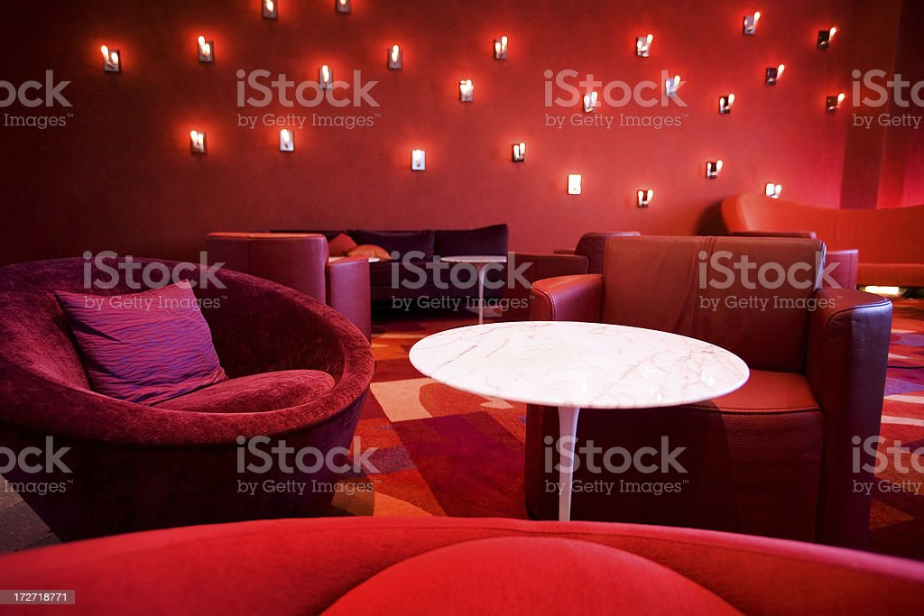 Red Room stock photo