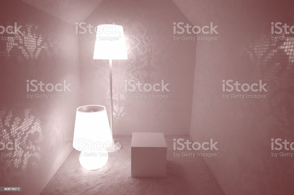 red room royalty-free stock photo