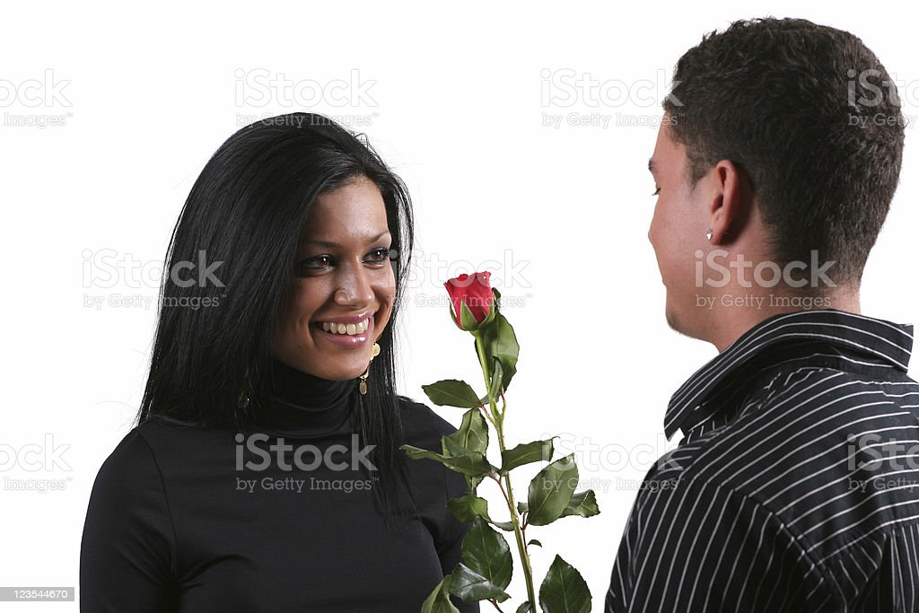 Red rose for my love royalty-free stock photo