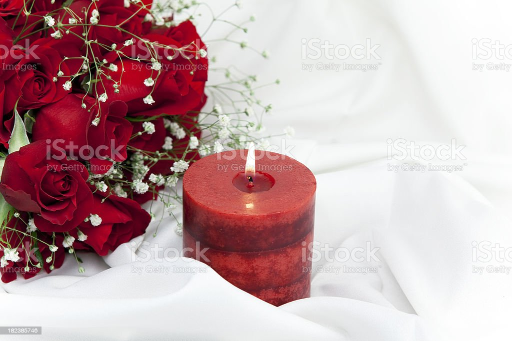 Red Roses for Valentines Day royalty-free stock photo