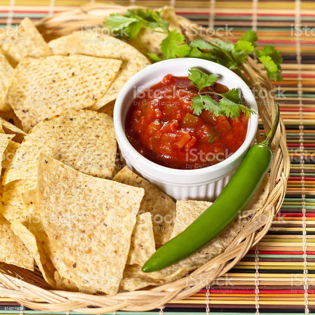 Red Salsa stock photo