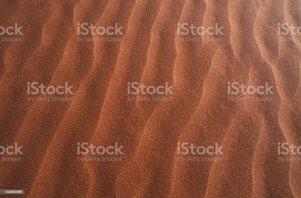 Red sand in Central Australia royalty-free stock photo